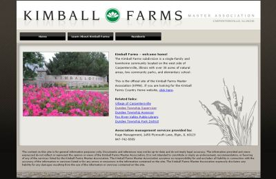Kimball Farms Master Association