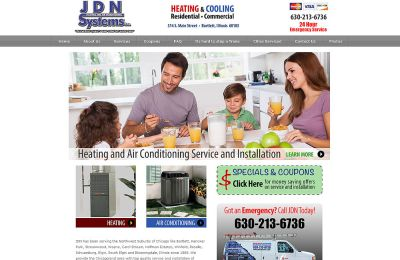 JDN Heating and Air Conditioning